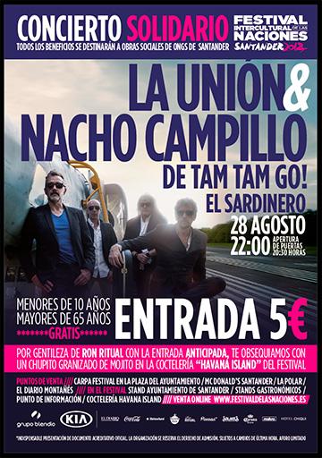 Concierto La Unión & Nacho Campillo