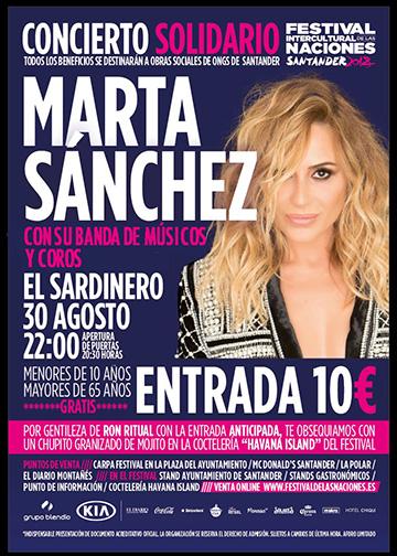 Concierto Marta Sánchez