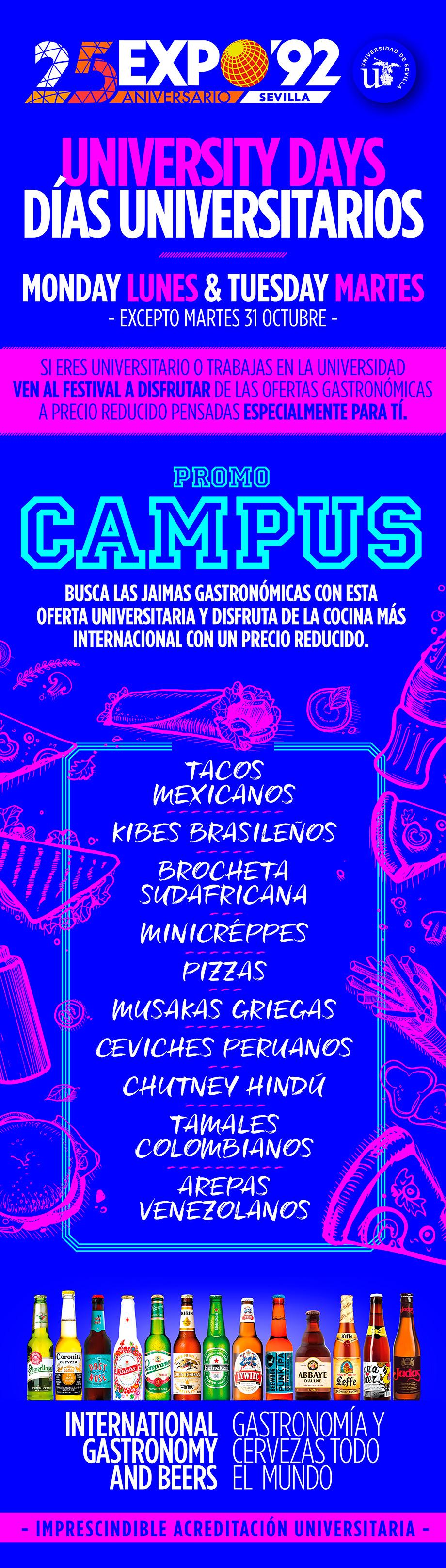Días Universitarios Festival de las Naciones Sevilla 2017