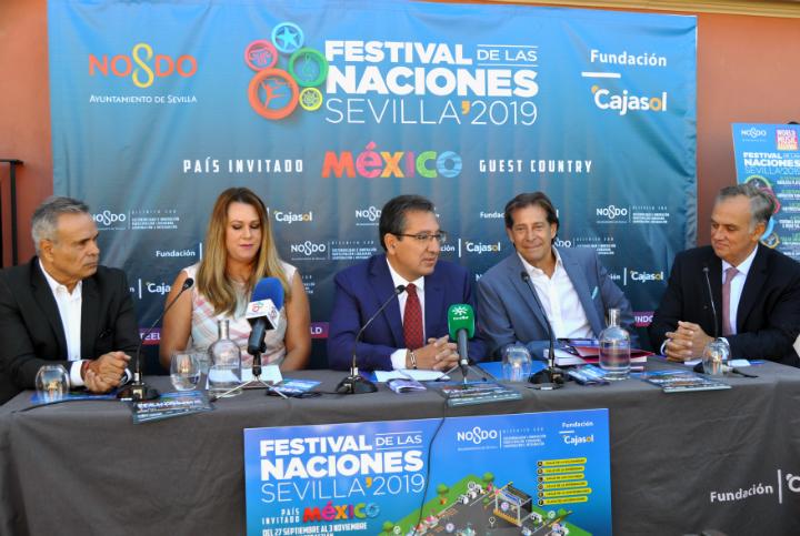 Rueda de prensa presentación Festival de las Naciones Sevilla 2019