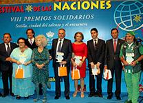 Premios solidarios Sevilla 2011