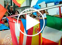 Pasacalles del Festival de las Naciones. Santander 2018