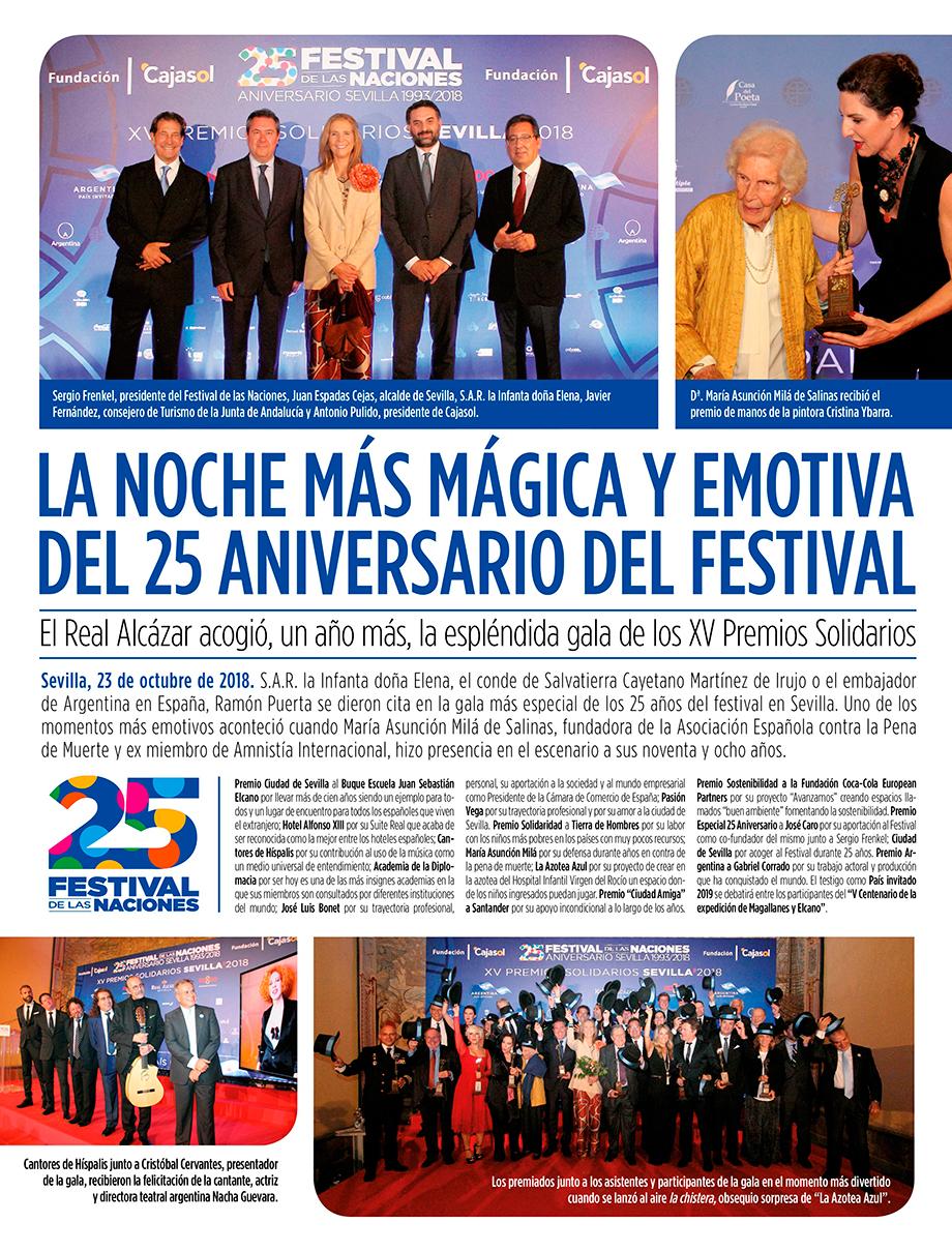 Publireportaje XV Premios Solidarios Sevilla 2018