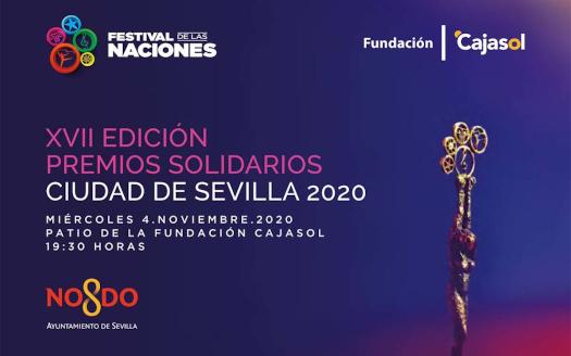 Cartel Premios Festival de las Naciones 2020
