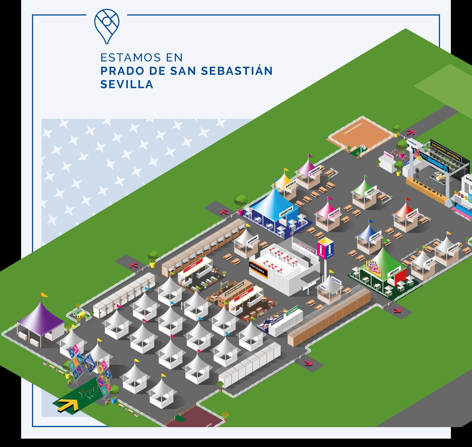 Plano Festival de las Naciones Sevilla 2021
